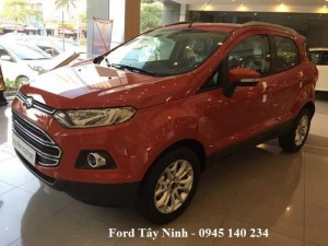 Ford Tây Ninh khuyến mãi mua Ford Ecosport 2017, mua ford ecosport giá rẻ nhất.