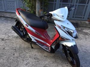 Suzuki Hayate SS Fi phun xăng,màu trắng đỏ, BSTP