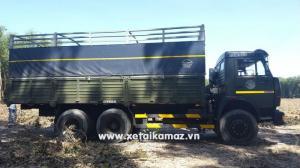 Xe tải thùng KAMAZ 53229 LONG 1 (6x4), thùng dài 6M3