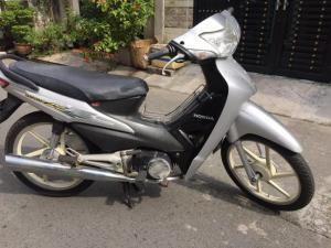Honda Wave A ,nguyên zin,màu bạc,máy êm