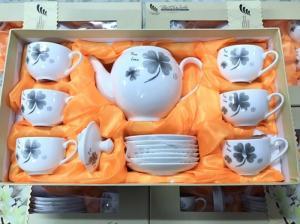 Bộ Tách Uống Trà Ceramics Hàn Quốc