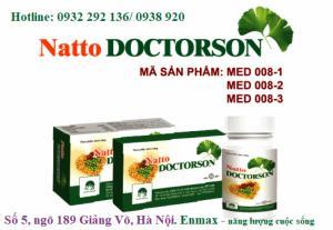 Natto doctorson hỗ trợ bệnh tai biến, đau thắt ngực