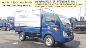 Xe tải 1 tấn 2 vào thành phố TATA Ấn Độ, Xe nhập 100% chất lượng vượt trội, giá thành rẻ.