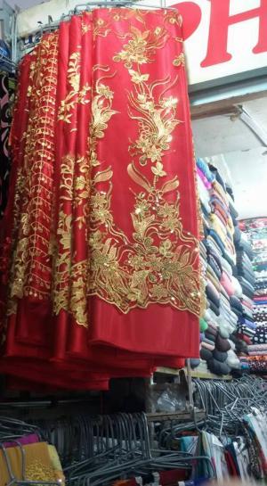 Vải áo dài Ren cao cấp