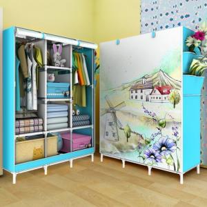 Tủ vải 3D 3 buồng 8 ngăn - Đài Loan