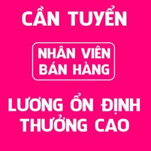 Cần tuyển nhân viên bán hàng shop thời trang tại Bình Tân TPHCM