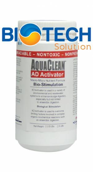 Aquaclean Ad Activator - Sản Phẩm Vi Sinh Chuyên Biệt Để Nâng Cao Hiệu Quả Phân Hủy Kị Khí