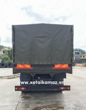 Xe Tải Thùng Kamaz 53228 Ba Cầu Chủ Động (6x6)