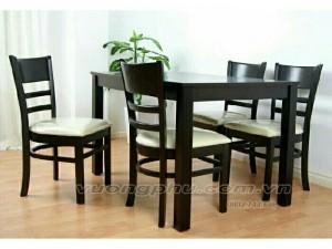 Bàn ăn 4 ghế môt bàn