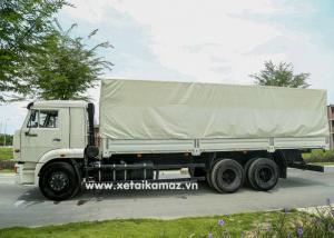 Xe Tải Thùng Kamaz 65117 (6X4) Long I