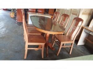 Bộ bàn ăn mặt liền