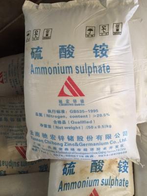 Bán nguyên liệu sản xuất phân bón Đạm SA (Amonnium sulphate)