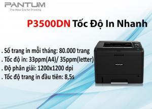 Máy in laser đơn sắc Pantum P3500DN