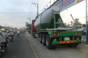 Cung cấp các loại Rơ mooc xi măng rời xi măng xá hàng chính hãng bảo hành