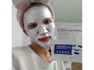 Returning Platinum Mask - Mặt nạ
