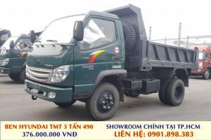 Xe Ben Hyundai TMT 3 tấn 49, xe mới đời 2017 Hỗ trợ trả góp chỉ 100tr nhận xe