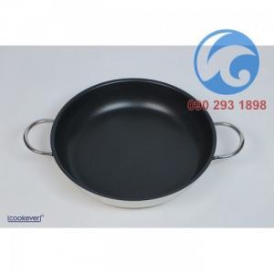 Chảo Chống Dính Inox Cookever 2 quai 28cm xuất Hàn