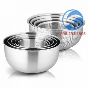 Bộ Tô Rổ Inox 304 Cookever 8 pcs xuất Hàn