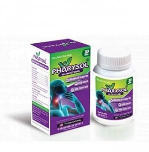 Pharysol - Hỗ trợ điều trị viêm họng, viêm amidan