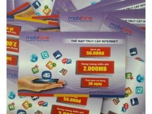 Thẻ cào data 4G mobifone 2800MB