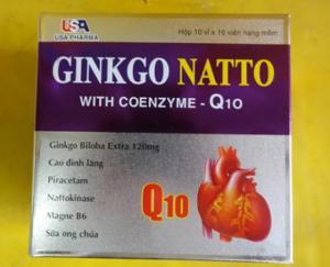 Sản Phẩm  Ginkgo Natto-hỗ trợ Tan Máu Đông, Ngừa Tai Biến, Đột Quỵ
