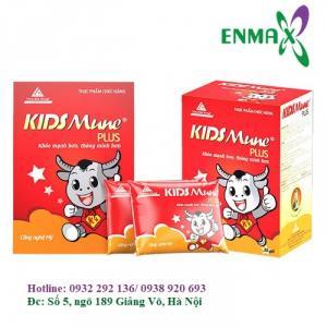 Kidsmune Plus giúp trẻ hết biếng ăn, tăng sức đề kháng