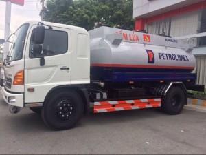 Xe hino FG bồn xăng dầu 11 khối