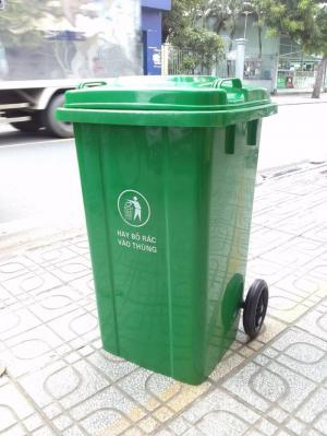 Bán thùng rác120L,thùng rác 240L, thùng rác 660L, giá ưu đãi.