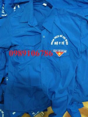 Áo xanh tình nguyện, in miễn phí giá rẻ tại hà nội