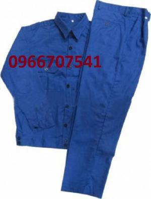 Quần áo phối Quần áo bảo hộ vải kaki nam định giá 120.000