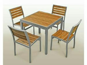 Bộ bàn ghế gỗ chính thức ra mắt hôm nay