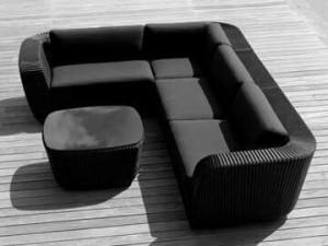 Sofa nhựa giả mây giá rẻ bất ngờ