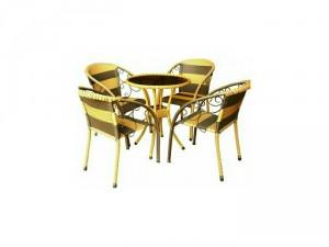Bàn ghế cafe thông dụng nhất thị trường