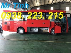 Xe 29 34 chỗ bầu hơi thaco town tb82 mẫu mới nhất