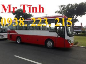 Thủ tục vay mua xe 29 chỗ 34 chỗ bầu hơi thaco town tb82 mới nhất