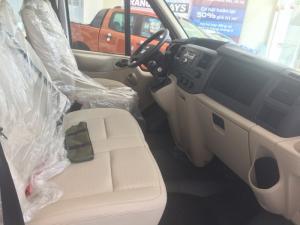 1. Giá xe Ford Transit 16 chỗ tiêu chuẩn giá: 872,000,000 VNĐ ( Lazang thép, kính lùa, ghế nỉ )