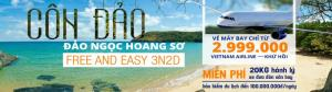 Free And Easy Côn Đảo Bay 3n2đ KM