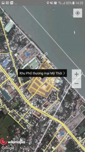 Đất nền khu phố thương mại bên dòng sông Hậu ngay TP Long Xuyên, An Giang