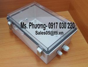 Tủ Điện nhựa chống thấm nước kích thước 30x40cm nắp trong