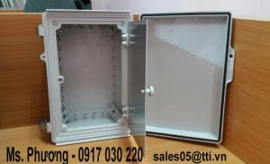 Tủ Điện nhựa chống thấm nước 2 lớp cửa
