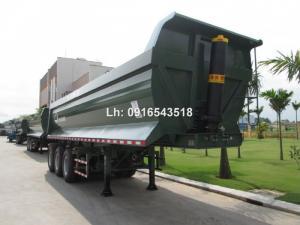 Bán Rơ mooc Ben Doosung 2017, xilanh Hyva FC 202, tải 28.1 tấn