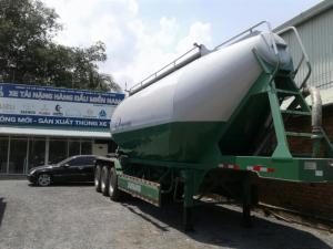 Bán rơ Mooc chở xi măng rời Doosung 33 tấn, 2017, Giao hàng ngay
