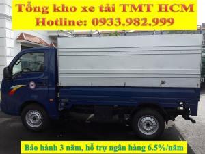 HOT! xe tải thùng KMPB máy dầu Ấn Độ 1.2 tấn, hỗ trợ trả góp chỉ 0.54%/tháng.