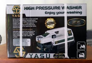 Máy rửa xe mini Yasu ys1600 áp lực 80bar mạnh