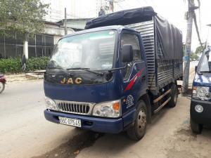 Xe tải Jac 2.5 tấn thùng bạt giá cạnh tranh