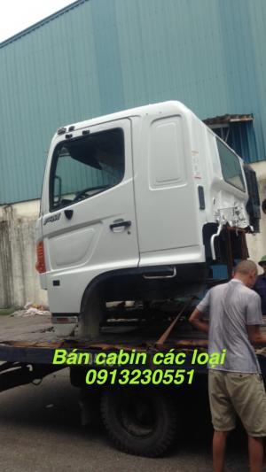 Bán đầu cabin hino 300, 500, 700, dongfeng,...