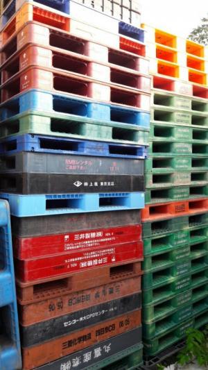 Mua bán Pallet nhựa cũ