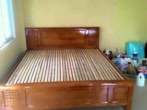 Giường Gỗ Xoan Ta