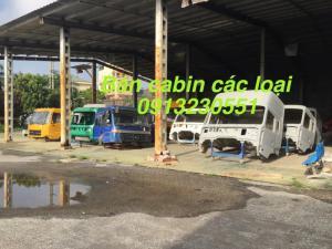 Bán cabin xe howo, dongfeng, jac vinaxuki thaco trường giang.