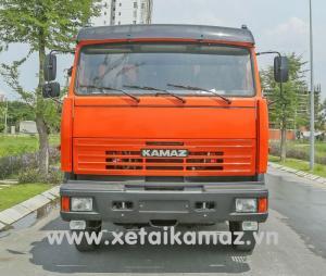 Xe Ben San Lắp  Kamaz 65115(6X4), Thùng Vat 10M3, Tải Trọng Hàng Hóa Cao